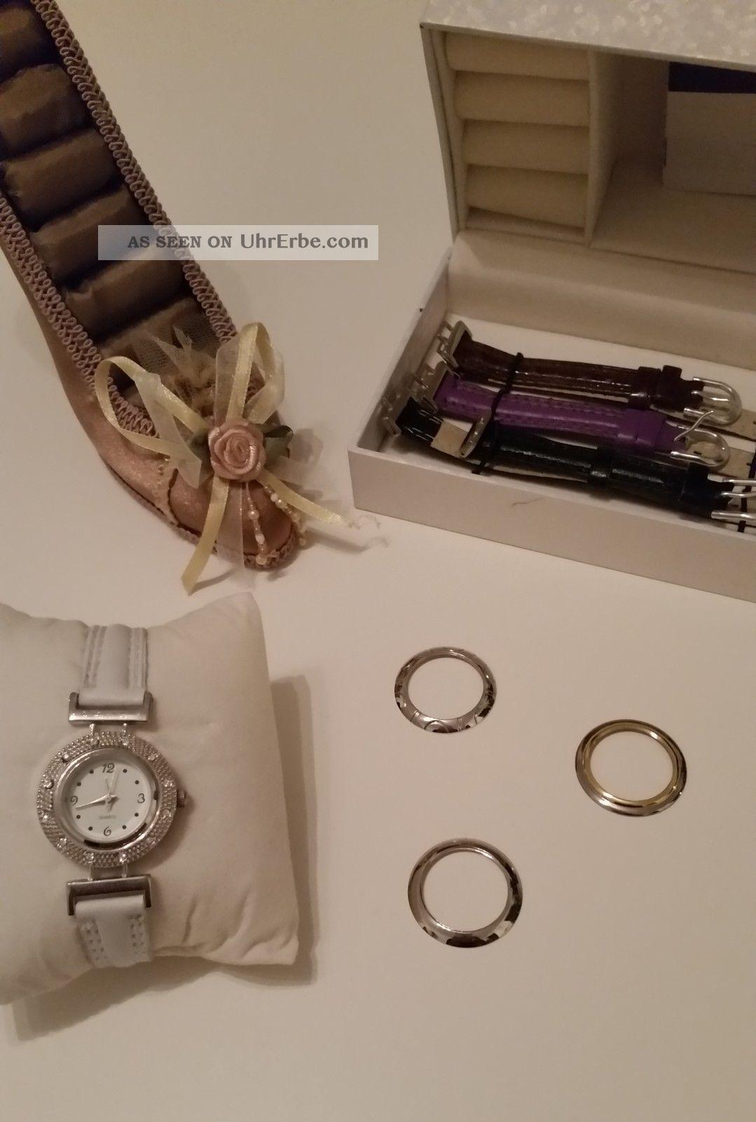 Uhr Damenuhr Mit Auswechselbaren Armbändern Armbanduhren Bild