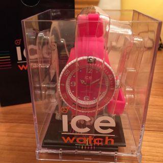 Ice Watch Armbanduhr,  Ice - Sunshine - Neon - Pink - Unisex,  In Ovp Bild