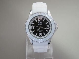 Tom Watch,  White Black,  44 Mm,  Wa00103 - 1 Bild
