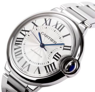 Automatische Armbanduhr Cartier W6920046 Ballon Bleu 36mm Mittelgroß Bild