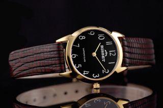 Bisset Bsad61 Safona Saphirglas Swiss Made Damenuhr Armbanduhr Bild