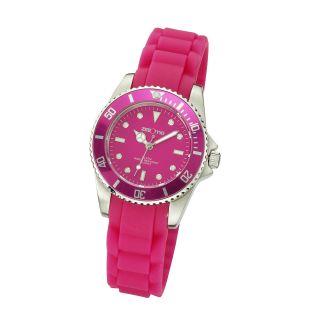 Zeeme Watches Damen Damen - Uhr Pink Silikonband,  Ovp Damen - Armbanduhr Bild
