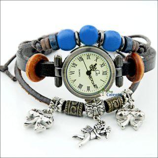 Damenuhr Armbanduhr Wrist Watches Quarz Analog Kunstleder Mode Günstige Bild