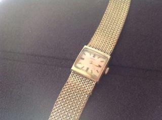 Cornett Zentra Damenuhr Handaufzug 60iger Jahre Bild