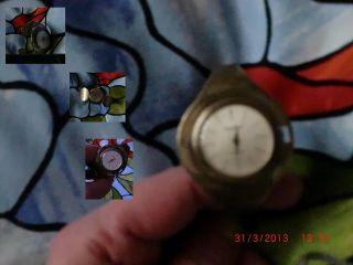 925 Silber Armbanduhr Damenuhr Funktionsfähig - Handaufzug Vfktf. Bild