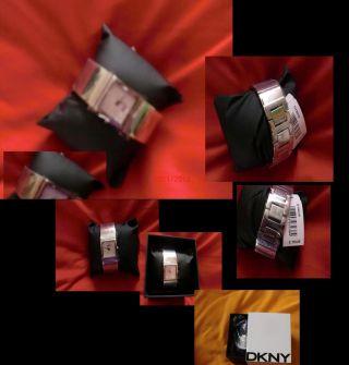 Dkny Damen Spangenuhr Quarz Steel Bracelet/diamante - Fb.  Ny8039 Uvp119€ Bild
