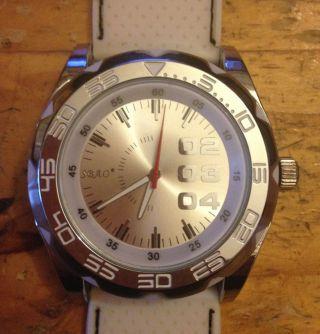 Sbao Armbanduhr Chronograph Silber Bild