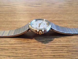 Maurice Lacroix Damen Armbanduhr Stahl - Gold Bicolour Superflah Qartz Uhr Bild