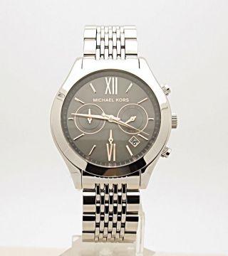 Damenuhr Chronograph Michael Kors Xl Mk5761,  Silber Bild
