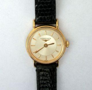 Longines Damenuhr Armbanduhr Uhr Sammleruhr L4.  219.  2 Bild