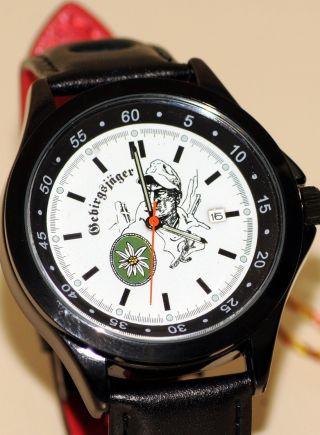Gebirgsjäger Imc Formula Schwarz Armbanduhr Uhr Günstig Ovp Sonderedition Bild