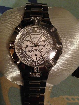 Guess Uhr Vista W12080l1 Ohne Etikett Bild