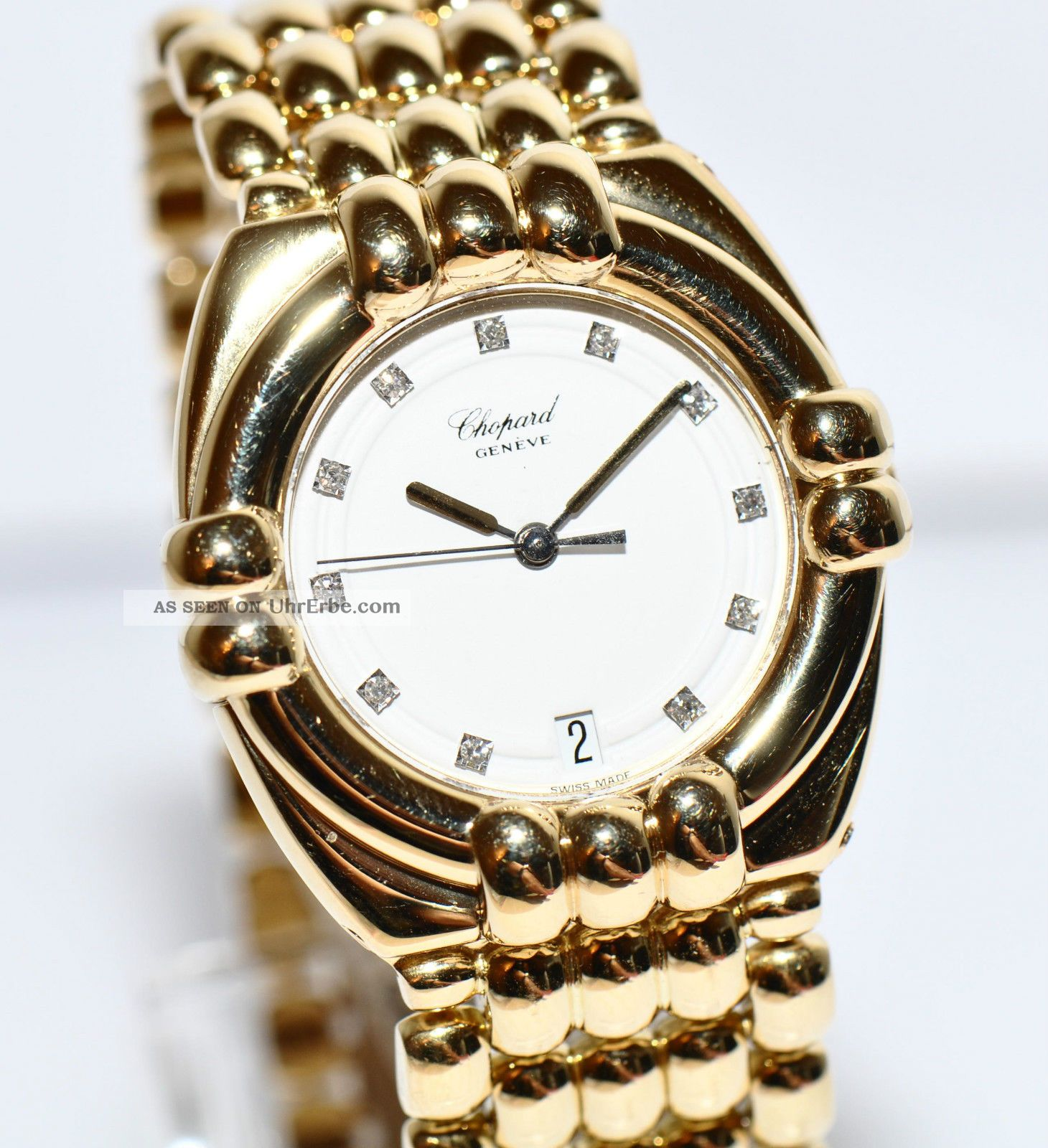 Chopard armbanduhr gold