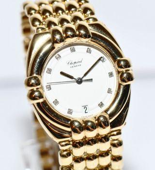 Chopard Gstaad 18kt Gold Uhr Ref.  2230 Diamant Zifferblatt Bild