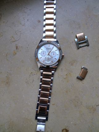 Firetti Armbanduhr,  Roségold - /silberfarben Bild