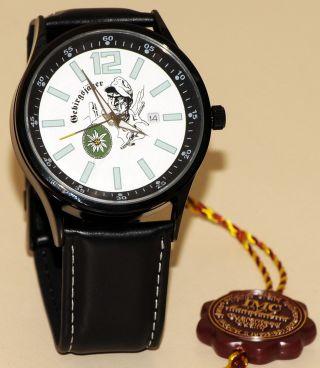 Gebirgsjäger Imc Strato Schwarz Armbanduhr Uhr Günstig Ovp Sonderedition Bild