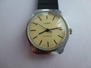 Hau Ruhla Kult Uhr Aus Der Ddr,  70er. Bild