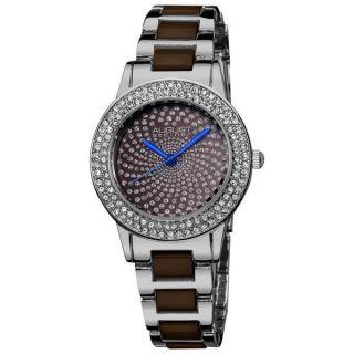 Damen Armbanduhr August Steiner As8052br Kristall Glitzer Keramik Gliederband Bild
