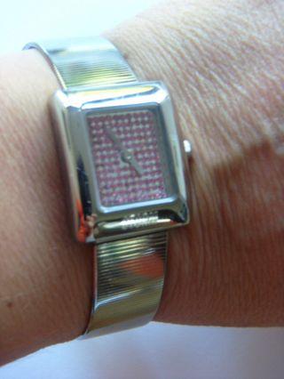 Storm London Uhr Watch Sparklex Red Stormuhr Edelstahl Poliert Bild