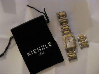 Armbanduhr Von Kienzle Vergoldet - Silber/gold Aus Edelstahl Armbandbreite: 2 Cm Bild