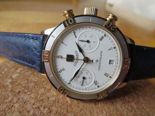 Poljot Columbus Mechanische Uhr Mit P3133 Werk Chronograph Stoppuhr Bild