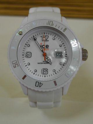 Ice Watch Uhr Sili White Unisex Weiss Bild