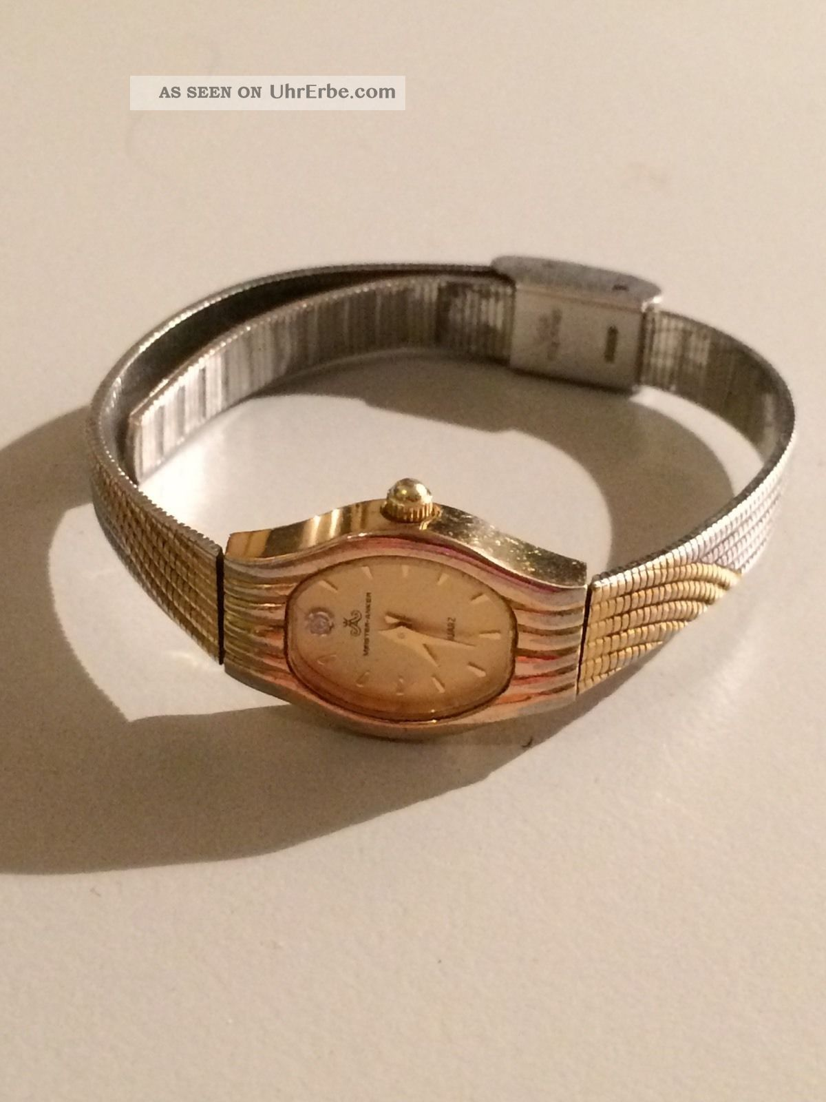 Meister - Anker - Damenuhr - Mit Stein Armbanduhren Bild
