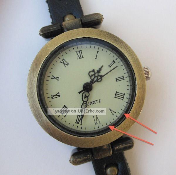 vintage wickelarmband wickel uhr armbanduhr damen wrap watch schwarz b ware. Black Bedroom Furniture Sets. Home Design Ideas