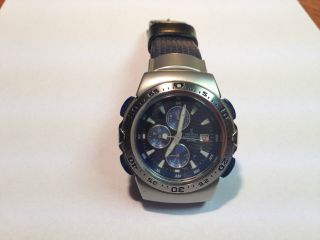 Festina Alarm Chronograph Herren Armband Uhr Bild