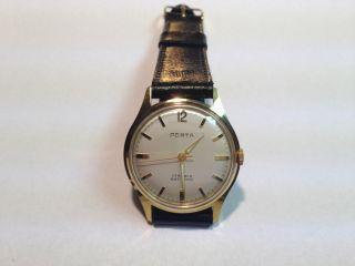 Porta Herren Armband Uhr,  Handaufzug,  Top,  Ungetragen Bild
