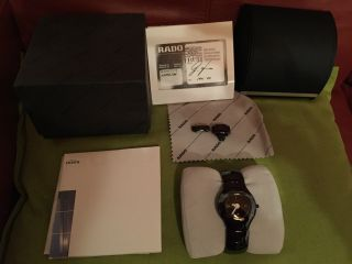 Rado High - Tech Ceramic Armbanduhr Damen Bild