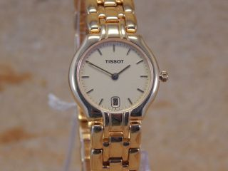 Tissot T44.  5.  1852.  1 Quarz Damen - Armbanduhr Aw003 Bild
