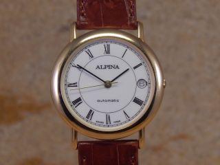 Alpina Automatik Ad 95 - 2109w - Ro - W115 Herren - Armbanduhr Bild