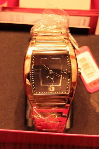Puma Damen Uhr Indication Metal Black Pu101082001 - In Ovp Bild