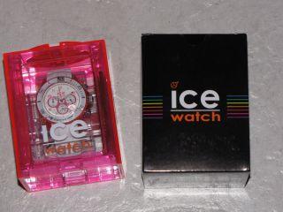 Ice Watch Uhr Chrono Party Cosmopolitan Pink Weiß Unisex Bild