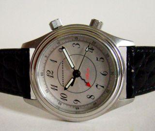 Mercedes Benz Armbanduhr M.  Wecker/alarmfunktion Handaufzug Unisex Neuw.  & Rare Bild