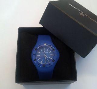 Alpha Saphir,  Damen - Armbanduhr,  Quarz Analog 345c - Blau Bild
