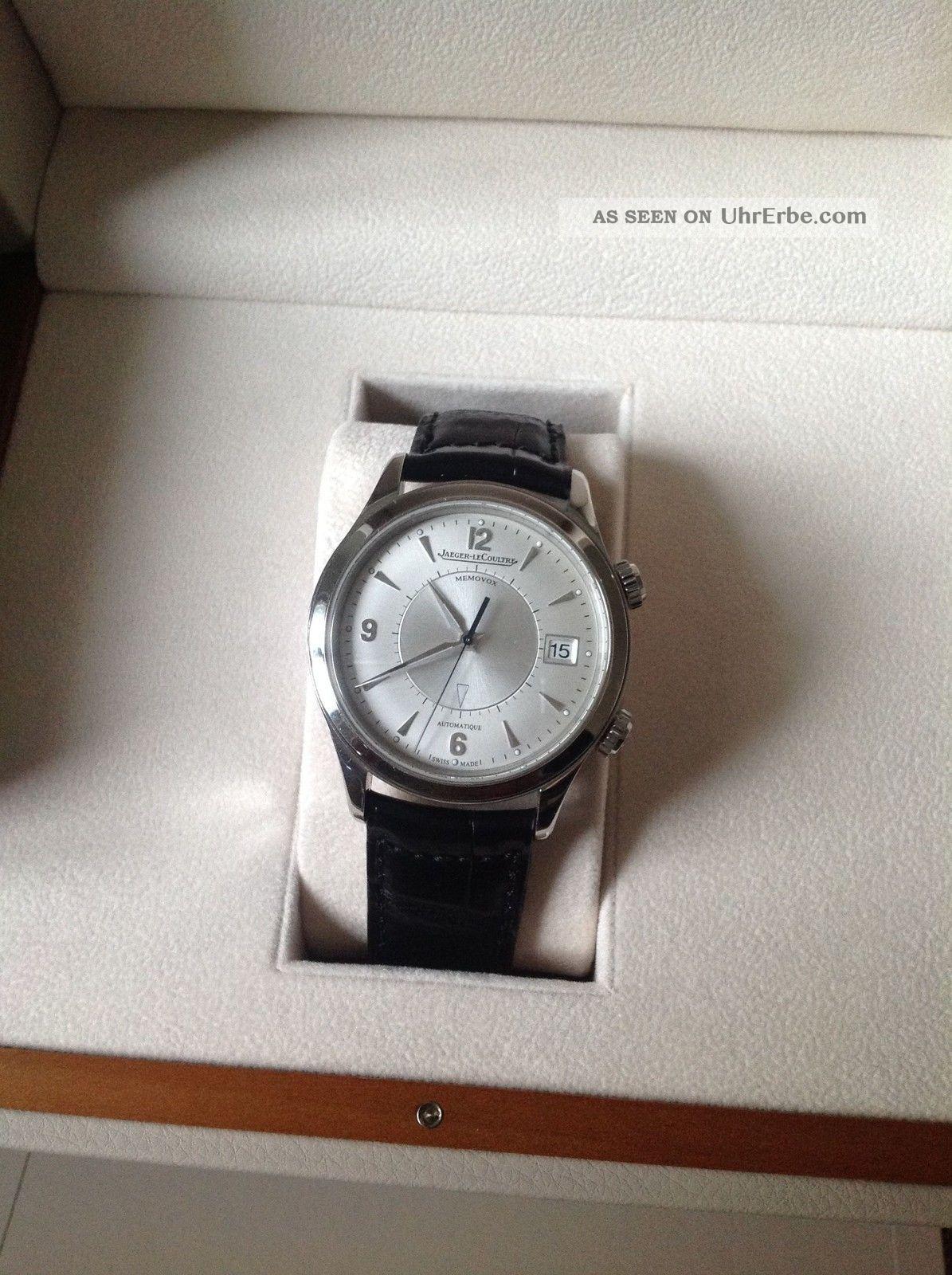 Jaeger Lecoultre Master Memovox Armbanduhren Bild