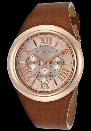 Michael Kors Mk2313 Damen - Rosegold Uhr Bradshaw Gold Ton Tan - Mk2313 Bild