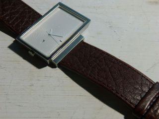 Designer Armbanduhr Axcent,  Torsby By Joakim Holmkvist,  Skandinavien Leder Braun Bild