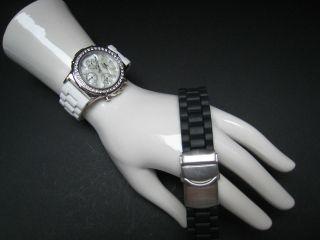 Hochwertiger Mc Choreograph 2 Kunststoffarmbänder Schwarz,  Weiß Bild