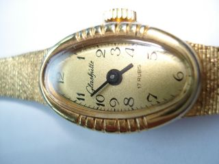 Orig.  Glashütte Damen Armbanduhr Ca : 1960 Bild