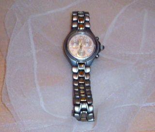 Tissot Since 1853 Titanium 100m330 Ft T645p Chronograph Armbanduhr Saphirglas Bild