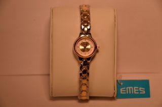 Emes 02/205 Damen - Armbanduhr Uhr Neuwertig/ungetragen Eta 578.  Xxx Bild