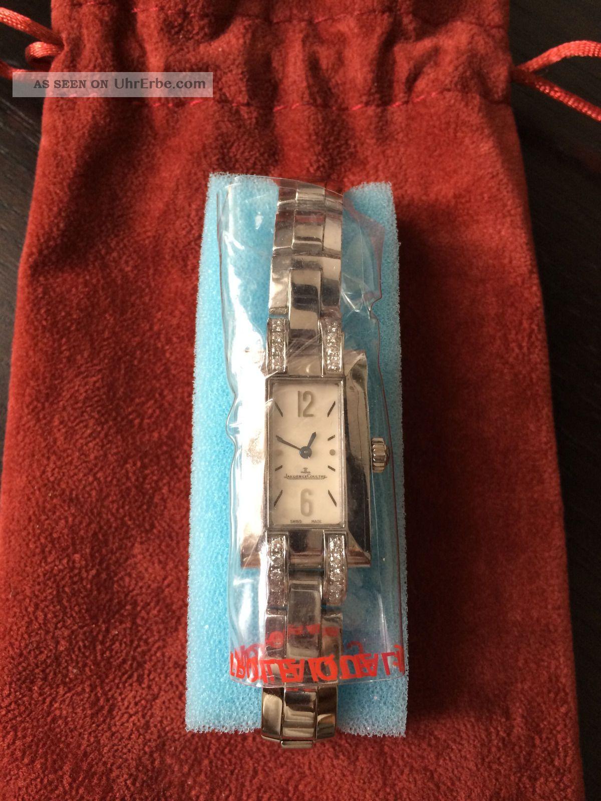 Jaeger Lecoultre Idéale Stahl Von 2006,  Frisch Vom Service Armbanduhren Bild