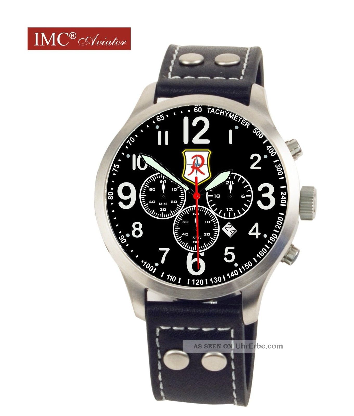 jg 71 uhr aviator chrono armbanduhr sonderedition. Black Bedroom Furniture Sets. Home Design Ideas