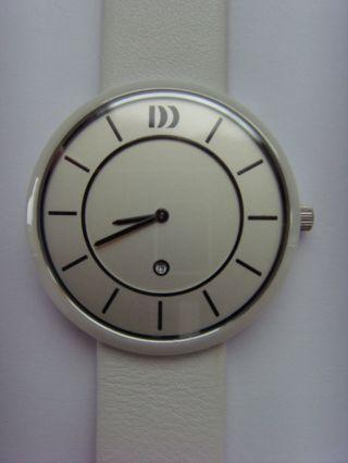 Uhr Danish Design 3314443 Dänisches Design Iq12q1034 Keramik Weiß Mit Datum Bild