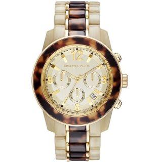 Michael Kors Horn Kunststoff Band Damen Uhr Damenuhr Armbanduhr Mk5764 Bild