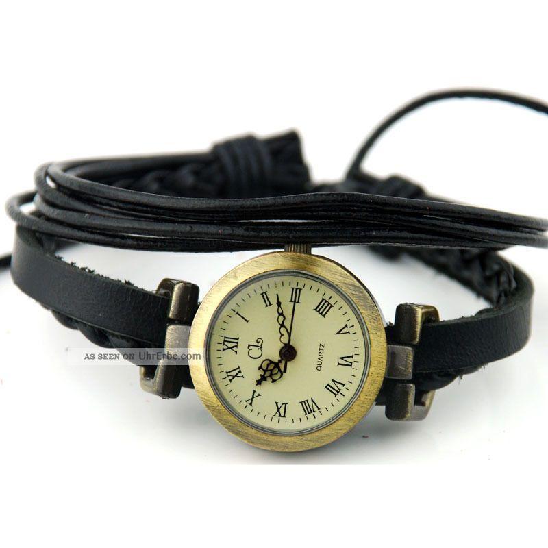 moderne frauen armbanduhren quarz watches kunstleder. Black Bedroom Furniture Sets. Home Design Ideas