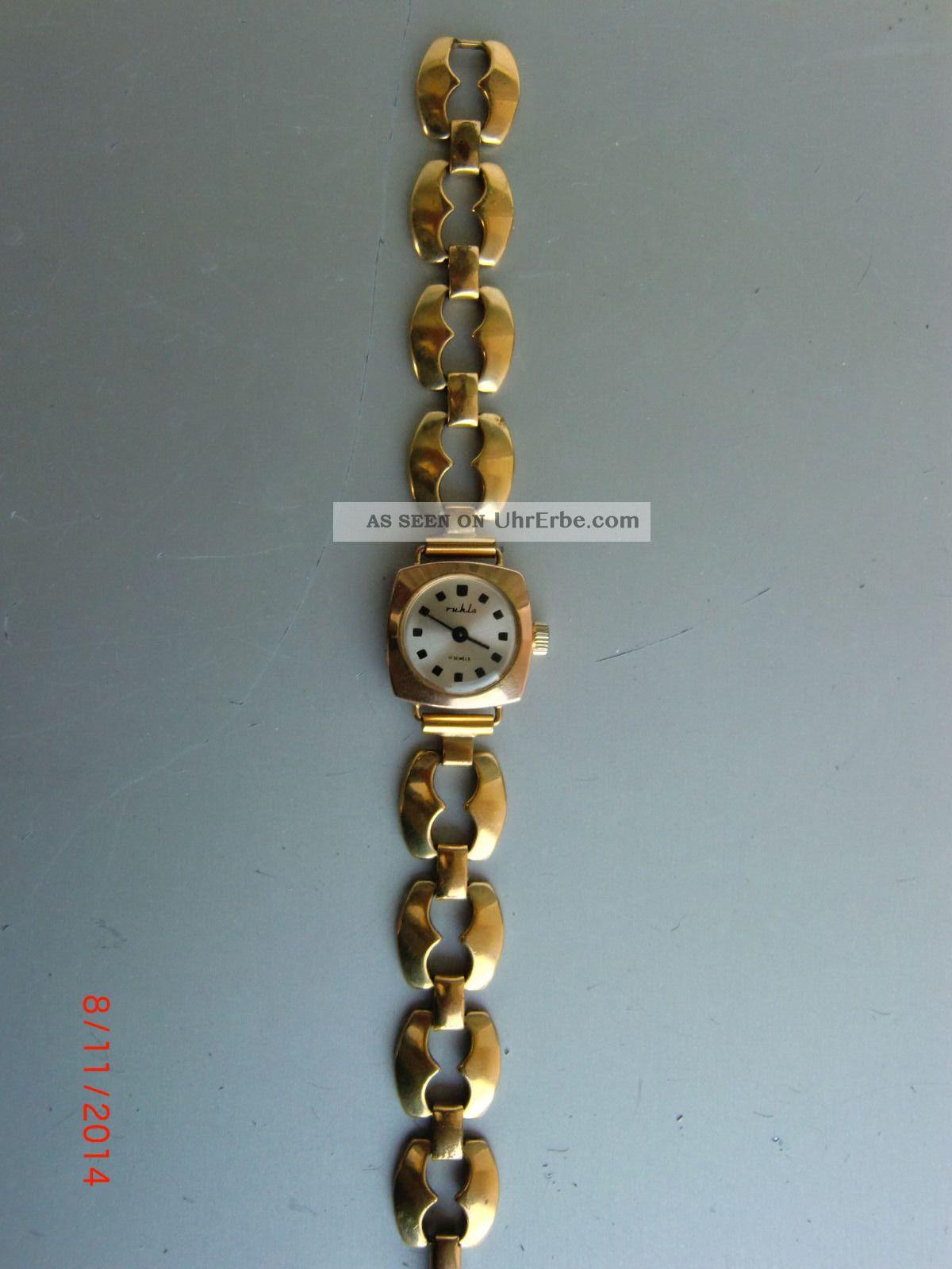 Damenuhr Ruhla Armbanduhren Bild